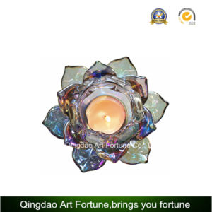 Lotus Tealight Candle Holder for Christmas Decoration pictures & photos
