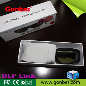 Universal 3D Active Shutter Glasses for all DLP-LINK 3D Projectors
