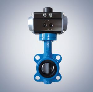 Pneumatic Butterfly Valve pictures & photos