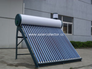 Domestic Compact Glass Tube Solar Water Heater pictures & photos