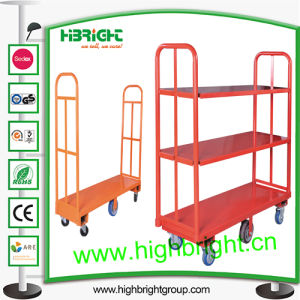 Heavy Duty Warehouse Platform U-Boat Trolley pictures & photos