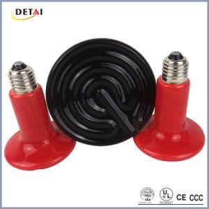 100W Round Bulb Infrared Lamp Ceramic Heater (DCH-1315)