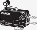 Short Hinge Roller Lever Type Small Basic Switch (V-J)