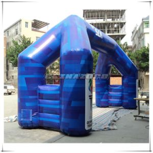 Triangle Shaped Paintings PVC Inflatable Arch for Business Advertising