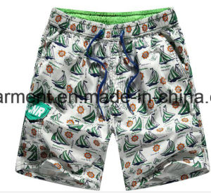 Nylon Fabric Boards Shorts, Man′s Start Printed Beach Shorts pictures & photos