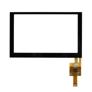 5.0 Inch Capacitive Touch Panel for Industrial Instrument