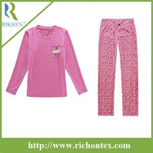 Girls Polyester Micro Polar Fleece Pyjamas Sleepwear