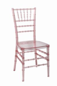 Pink Polycarbonate (PC) Resin Banquet Party Tiffany Chair pictures & photos