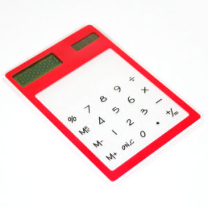 High Quality Pocket Solar Credit Card Calculator for Sale pictures & photos