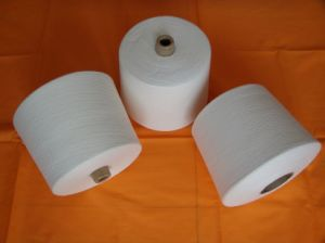 100% Cotton Open End Yarn 21s/2, 32s/2, 28s/2 pictures & photos