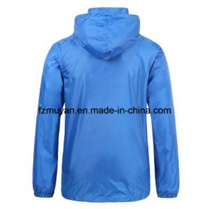 Soft Shell Waterproof Hooded Waterproof Coat pictures & photos