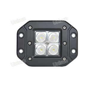 4inch 12V/24V 12W Jeep CREE LED off Road Work Light pictures & photos