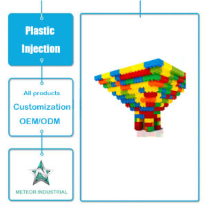 Customized Kids/Childrens Building Blocks Toys Plastic Injection Moulding Parts pictures & photos