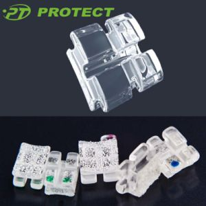 Single Crystal Roth Brackets Orthdontic Sapphire Brackets pictures & photos