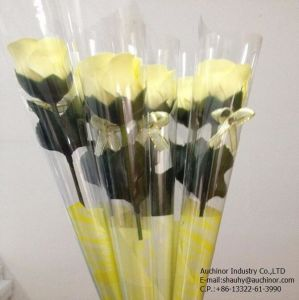 Moisture Proof OPP Plastic Packaging Flower Sleeve Bag with Tear Line pictures & photos