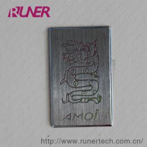 Digital Products Electroform Nickel Label Sticker Electroforming pictures & photos