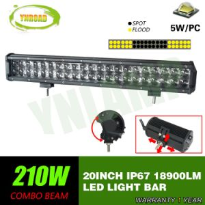 CREE 20inch 210W 4D Reflector LED Straight Light Bar for Offroad pictures & photos