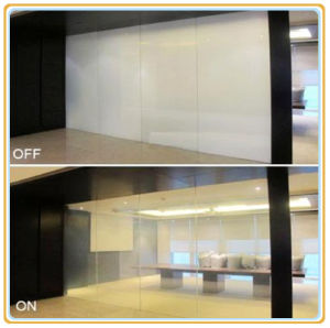 Electronic Control Pdlc Smart Glass (Smart film) pictures & photos