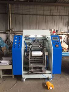 Fts-500 Auto PE Cling Film Rewinding Machine (CE) pictures & photos