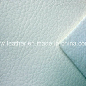 Good Quality White PU Leather for Sofa, Shoes Hw-8756 pictures & photos