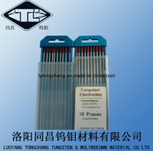 High Density 19.2 Wt20 Polished Tungsten Electrodes Dia2.4*175 for TIG Welding pictures & photos