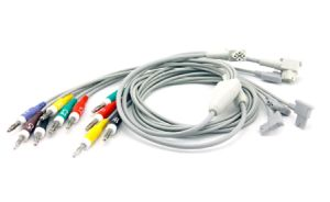 ECG Cables Compatible with HP pictures & photos