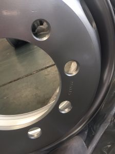 22.5X7.5 Truck Trailer Wheel Rim pictures & photos