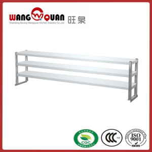 Restaurant Commercial Kitchenstainless Steel Standing Shelf with 3 Tier Sheets pictures & photos