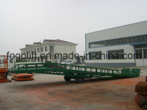 10t Mobile Forklift Loading and Unloading Yard Ramp pictures & photos