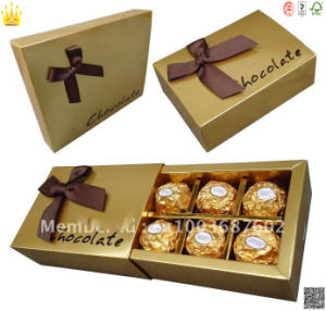 Chocolate Box Carton/Paper Candy Box (mx-118) pictures & photos