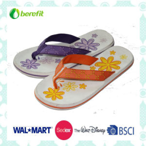 EVA Sole and PU Upper for Soft Feeling, Women′s Slippers pictures & photos