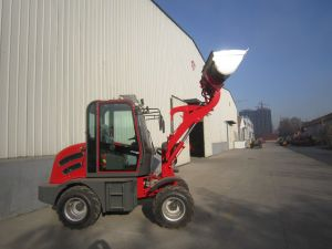 CE Zl08 Mini Wheel Loader Made in China pictures & photos