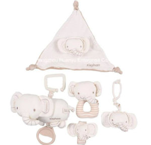 Factory Supply Organic Fabric Baby Toy Set pictures & photos