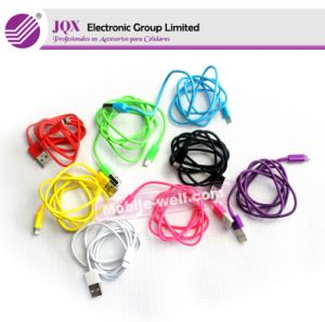 Colorful USB Data Cable for iPhone 5 Cable