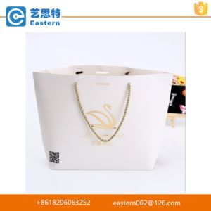 Plain White Paper Carry Bag with Handles pictures & photos