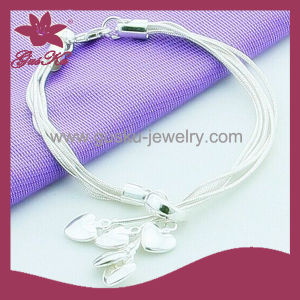 2015 Cpb-002 Chinese Popular Sterling Silver Cuff Bracelet