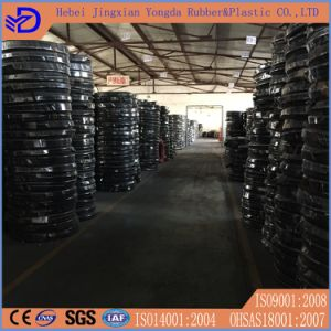 Steel Wire Reinforced Black Large Diameter Rubber Hose pictures & photos