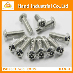 Stainless Steel Torx with Pin Button Head Tamper Proof Security Machine Screws pictures & photos