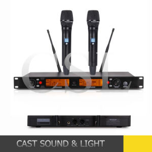 PRO-Audio Dual Channel UHF Wireless Microphone pictures & photos
