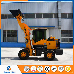 Chinese 1.5t Front End Wheel Loader with 4 in 1 Bucket for Sale pictures & photos