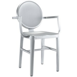 Aluminium Chair with Arm (LD-OC00010)