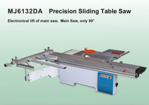 45 Degrees 3200mm Electric Saw Lifting Sliding Table Saw