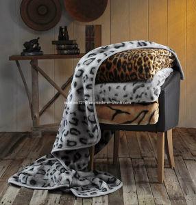 Hot Sale 100% Polyester Raschel Blanket Sr-MB170301-12 Soft Printed Mink Blanket pictures & photos