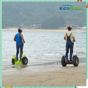 New Products Ecorider Golf Cart Lithium Battery off Road Electric Chariot Two Wheel Smart Balance Electric Scooter pictures & photos