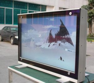 65 Inch Wall Mounted LCD Display for Outdoor Digital Signage Media Player pictures & photos