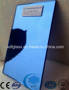 Dark Blue Float Glass Silver Mirror pictures & photos