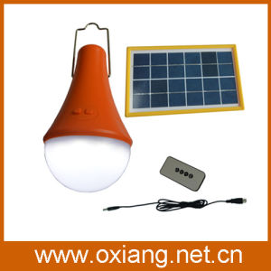 Mini Solar Energy Saving Bulbs with Remote Control pictures & photos