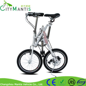 18′′ High Carbon Steel Variable Speed Folding Bicycle for Adults pictures & photos