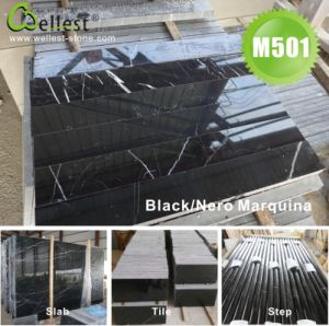 Black Granite Marble Stone Tile for Floor and Wall Cladding pictures & photos