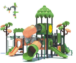 2015 Hot Selling Outdoor Playground Slide with GS and TUV Certificate QQ14018-2 pictures & photos